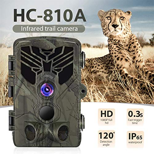 ACHICOO HC-810A Hunting Camera Scouting Trail Camera Wildview 1080P 16MP HD PIR Motion Night Vision CameraSuper Convenient