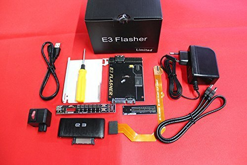 Original E3 Flasher Limited Edition 11 Teile Zubehör ps3 Downgrade-Tool