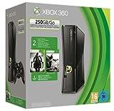 Microsoft X-Box 360 slim 250GB inkl Batman: Arkham City + Darksiders 2 + 2 Controller