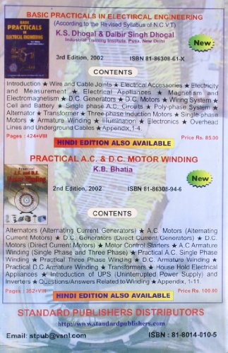 Basic Electrical Engineering Buy Online From Engineering Books Shop