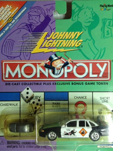 Johnny Lightning Monopoly 70th Anniversary Collection Go to Jail Diecast car (70th Collection Anniversary)