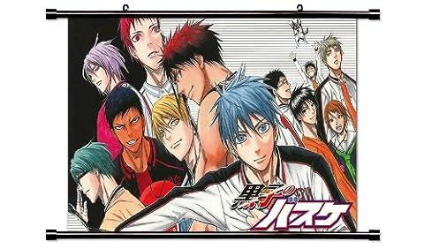 "Kuroko No Basket Anime Fabric Wall Scroll Poster (32"" x 20"") Inches"