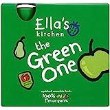La Cuisine De Ella Le Vert Organiques De Fruits Smoothie Écrasés (De 5X90G)