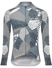 Sports Wear UGLYFROG Maillot Ciclismo Mujer Raya Designs Maillots de Bicicleta Cycling Jersey Manga Larga Top