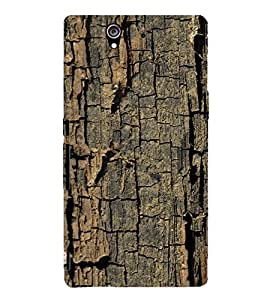 EPICCASE Tree bark Mobile Back Case Cover For Sony Xperia Z (Designer Case)