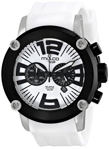 Mulco MW2-6263-015 - Orologio da polso, donna, plastica, colore: bianco