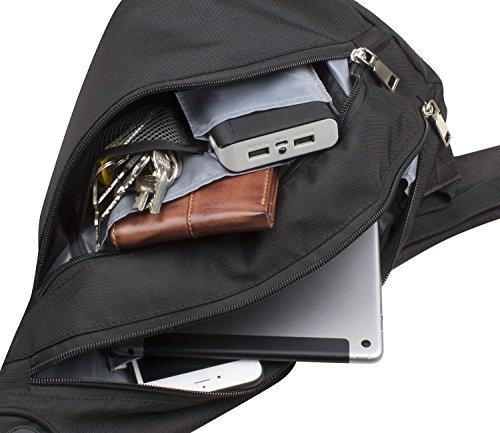 Bruno Banani Reisezubehör Body Bag Daypack Schulterrucksack Schwarz 6909