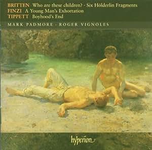 Songs by Britten, Finzi & Tippett