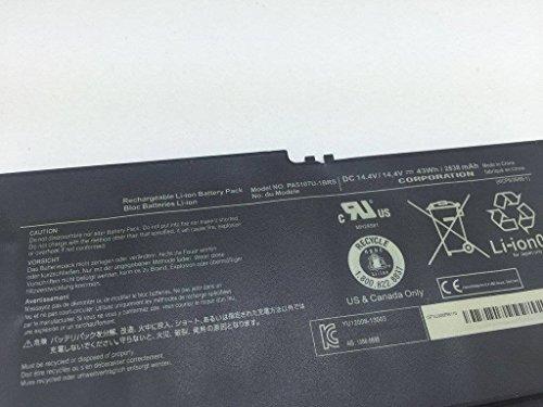 BPXLi-ION Battery PA5107U-1BRS (14.4V 43Wh 2838mAh) for Toshiba L55 L55t S55 S55t P55 P55-a5312 Satellite L50T-A