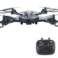 POBO RC Drone 2.4GHz Foldable Quadcopter WiFi 6 Axis Remote Control 4CH Optical Flow Positioning with HD Camera LED Lights BW PBL600 … B07JB3V5FG