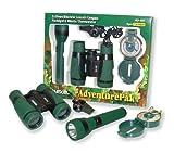 Carson 5 x 30 adventurepak Fernglas mit Outdoor-Accessoires