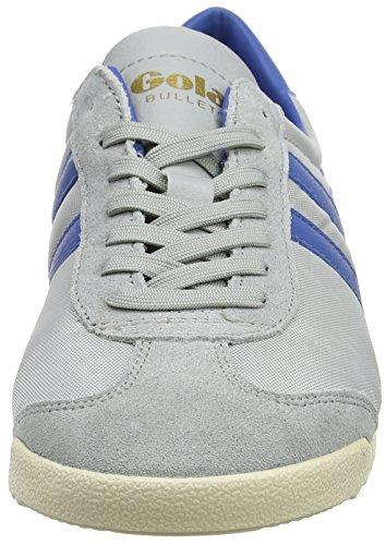Gola Bullet Nylon, Baskets Homme Gris (Grey/marine Blue)