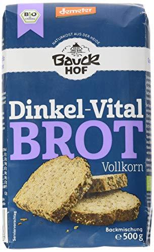 Bio-rosinen Kleie (Bauckhof Dinkel-Vitalbrot Vollkorn Demeter, 6er Pack (6 x 500 g))