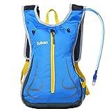 Zaino dello zaino della borsa di bicicletta, sacchetto di spalla Zaino di corsa traspirante da viaggio esterno , blue