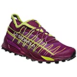 La Sportiva Mutant Woman, Zapatillas de Trail Running para Mujer, Multicolor (Plum/Apple Green 000), 36 EU