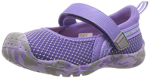 pediped Mädchen River Mary Jane Halbschuhe, Violett (Purple PRP), 20 - Mary Schuhe Purple Jane