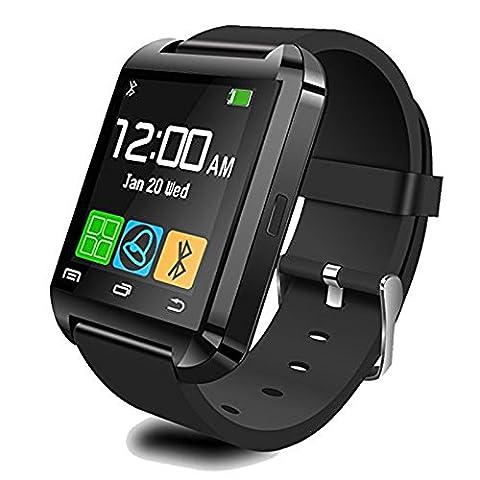 Owikar Bluetooth Smart Watch Montre-bracelet de sport numérique moniteur de sommeil appel/SMS rappel pour iOS iPhone 5/6/6/6S Plus/7/7Plus Samsung S3/S4/S5s6/S7/Note 3/Note 4/Note 5smartphones Android