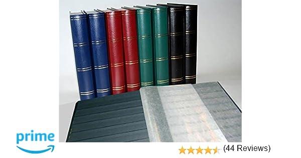 Prophila Collection Album Nostalgique II pour Timbres int/érieur Noir 60 Pages