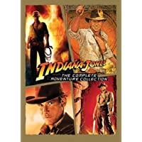 Indiana Jones: The Complete Adventure Collection (Raiders of the Lost Ark / Temple of Doom / Last Crusade / Kingdom of the Crystal Skull) by Paramount by Steven Spielberg