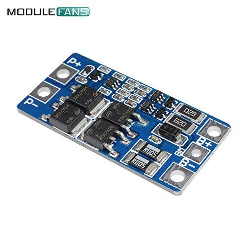 2S 10A 8,4 V 7.4 V 18650 Lithium-Schutz-Board BMS PCM PCB Li-Ion Lipo 2 Cell Pack mit Balance-Funktion Ladegerät schützen Modul Cell Pack