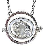 Inception Pro Infinite Hermione Collier Horloge avec Sablier - Pivotant - avec Sable...