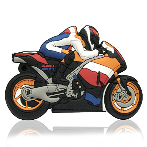818-Tech No1940004 Hi-Speed USB-stick (2/4/8/16/32/64 GB) y Moto MOTOR SPORT (16.00|GB), color...