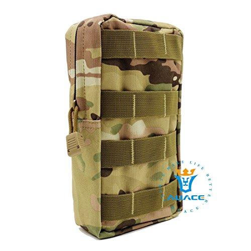 Multifunzione sopravvivenza Gear tattico Pouch Tattico Pouch Borsa Carry, campeggio portatile Borse Marsupio Pouch Custodia da viaggio per attrezzi, OD CP