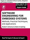 Software Engineering for Embedded Systems: Chapter 15. Embedded Software Quality, Integration and Testing Techniques