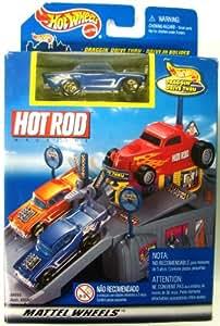 Hot Wheels Hot Rod Draggin Drive Thru Mini Playset + Car