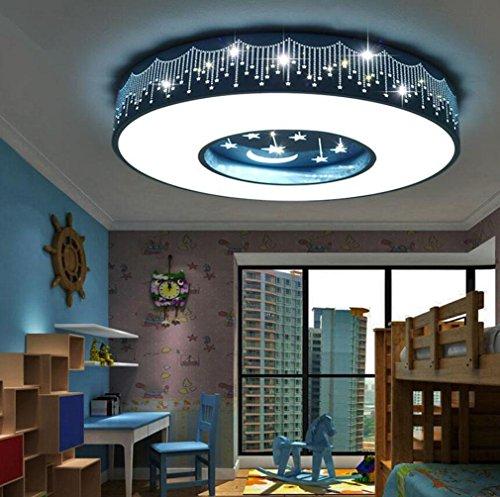 GFFORT Kinderzimmerlampe LED Deckenleuchte Für Jungen Und Mädchen Und  Begrüßungsräume Licht Energie Licht Star Moon Auge Pflege Kinderlampen  (400mm * 90mm), ...