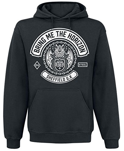 Bring Me The Horizon Chained Bat Felpa con cappuccio nero S