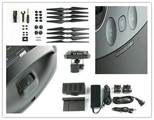 XIRO Xplorer Professionelle Quadcopter (V Version) mit externer Auswerteelektronik, Gimbal und 1080p HD-Video-Kamera - 9