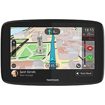 """TomTom GO 620 World - Navegador GPS (6"""" pantalla táctil, flash, batería, encendedor de cigarrillos, USB, interno), (versión importada Francia)"""