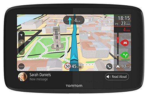 """TomTom Go 620Navigatore GPS per Auto, Display da 6"""", Aggiornamenti Tramite Wi-Fi, Chiamate Hands-Free, Nero [Versione EU]"""