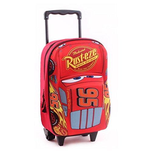 Achat Cars 3 sac a dos 3d a roulettes garçon 31 cm