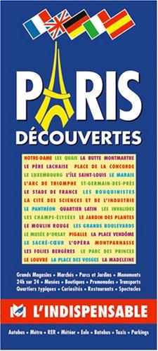 Plan de ville : Paris Découvertes (en anglais)