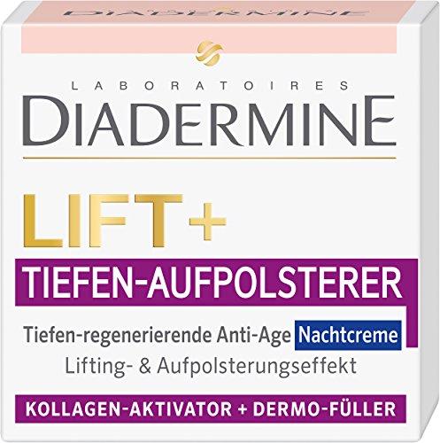 Diadermine Nachtcreme Lift plus Tiefen-Aufpolsterer, 50 ml
