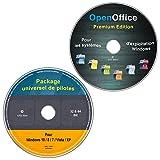 Logiciel d'installation automatique des pilotes windows 10-8-7-vista-xp (32& 64 Bit) tous les modèles de PC et portables + OpenOffice Premium Edition (2 CD/DVD-Set)