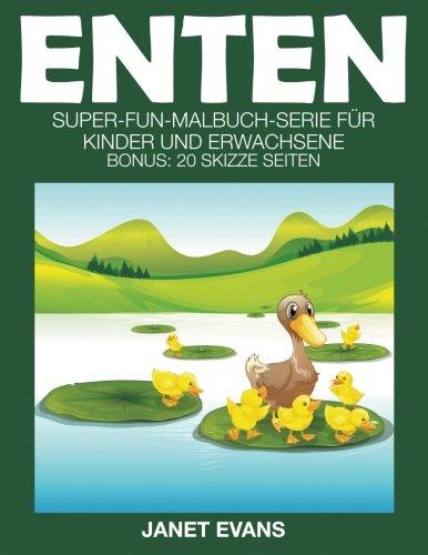 buch-Serie für Kinder und Erwachsene (Bonus: 20 Skizze Seiten) (Ente-pack)