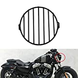NATGIC Motorrad Scheinwerfer-Gitter, universal, 17,8 cm, Scheinwerfer, passend für 8-10 mm...