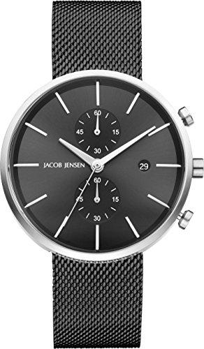 Jacob Jensen Herren-Armbanduhr 626