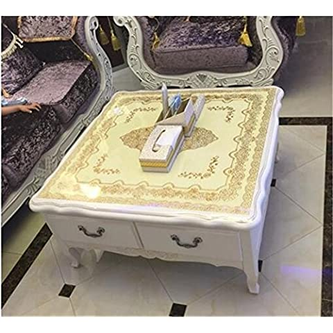 Tavolino quadrato tavolino tappeto tovaglia famiglia stuoie 90 * 90 della tabella Tovaglie , gold color , about 90*90 square