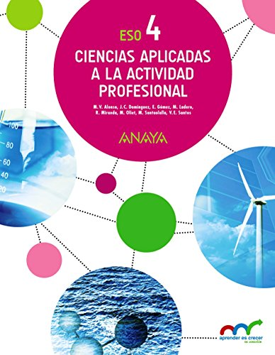 Ciencias Aplicadas a la Actividad Profesional. (Aprender es crecer en conexión) - 9788469811535