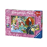 Ravensburger Kinderpuzzle 07620 Ravensburger 07620-In der Welt der Disney Prinzessinnen-Kinderpuzzle