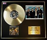 CREED/Goldene Schallplatte/RECORD & Foto-Darstellung/Limitierte Edition/COA/WEATHERED