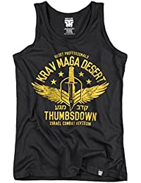 Krav Maga Desert Tank Top. Vest. Quiet Professionals. Israel Combat Division. Thumbsdown Last Fight. Gladiator Bloodline. Martial Arts. Fightwear. Training. Casual. Gym. MMA T-shirt