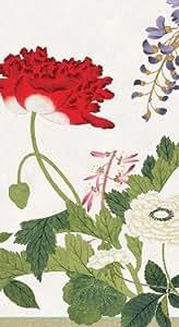 Caspari Lot de 15 serviettes en papier Motif profusion de fleurs