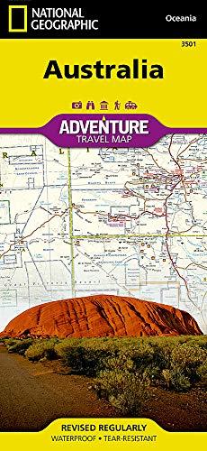 Australien: NATIONAL GEOGRAPHIC Adventure Maps - Karte Von Australien