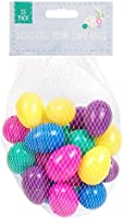 25 Assorted Colour Fillable Plastic Surprise Eggs - Fill With Easter Hunt Gifts And Chocolate