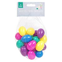 Easter Filler Eggs - 25 Pack;Contains an assortment of coloured plastic eggs;These are great to fill with mini chocolate eggs, chicks, sweets or Easter gifts;Ideal to fill Easter Baskets or for Easter Egg Hunts;Eggs measure approx 4.5cm x 3cm...